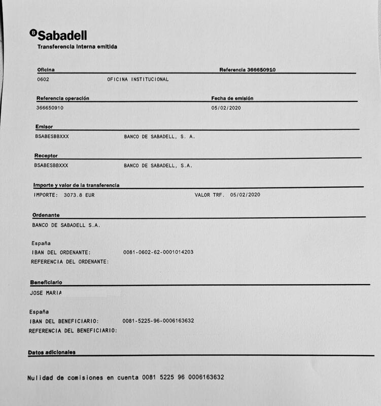 Sabadell-pago